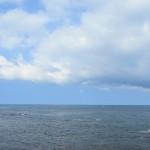 透きとおる水と空の交わる場所