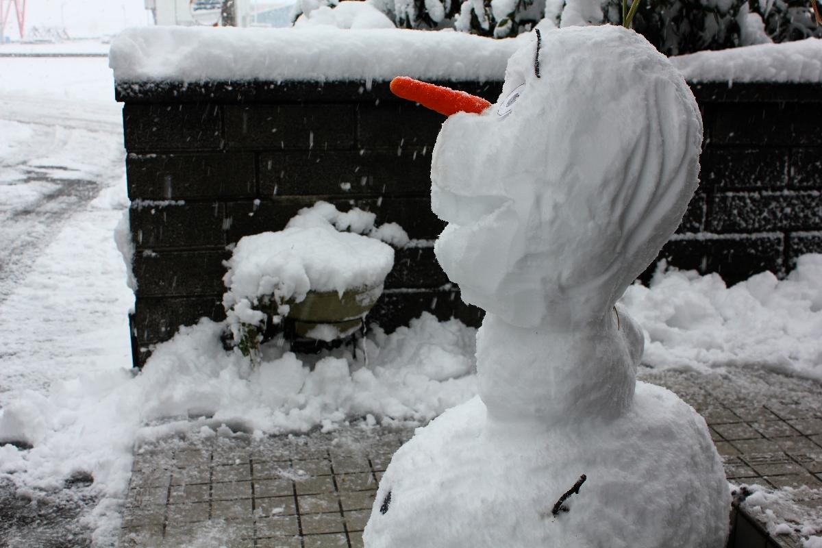 雪だるまつくろ~~♪